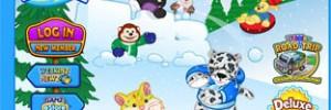 Webkinz Winter Homepage Theme